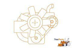 Yanmar 3TNC78 engine