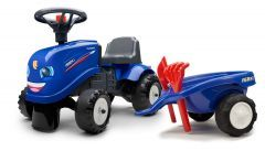Iseki Ride On Tractor with trailer and tools
