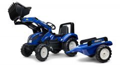 Iseki Pedal Tractor with trailer and Front loader 3 to 7 years