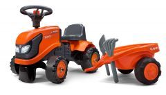 Kubota M4072 Ride On Tractor with trailer and tool