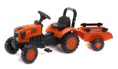 Kubota M7171 Pedal Tractor with Trailer 2 to 5 years