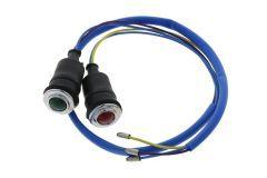 Indicator lights Oil and battery Ford / New Holland Dexta, Super Dexta