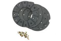 Brake lining kit disc, 165 mm
