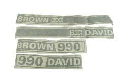 Shield Type David Brown 990