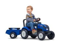 Iseki Pedal Tractor with Trailer 2 to 5 years