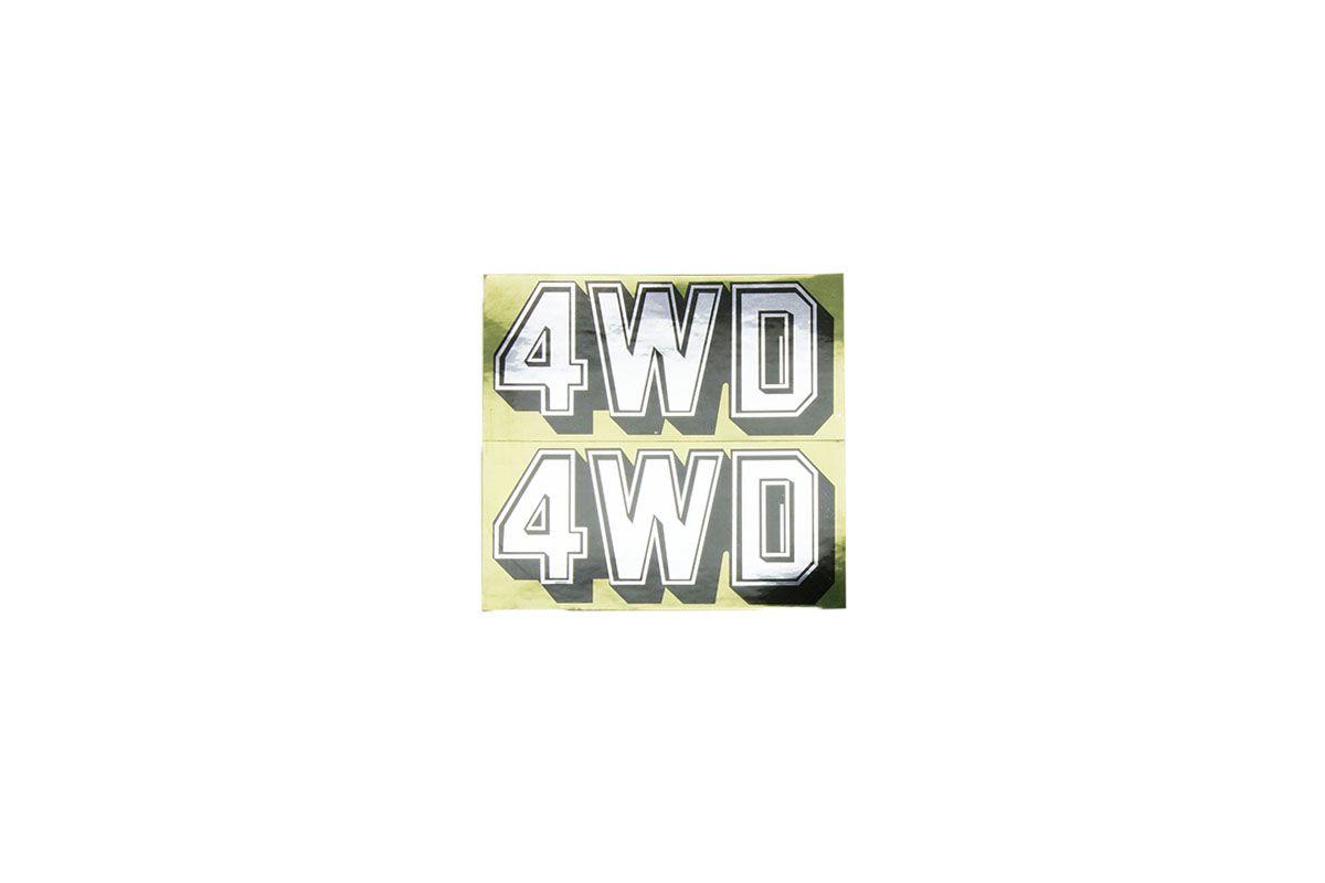 Image of 4WD Sticker